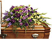 Reflections of Gratitude Casket Spray Flowers