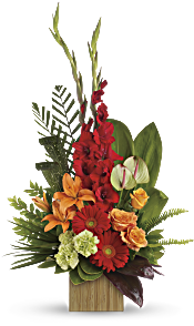 Heart's Companion Bouquet by Teleflora Flowers