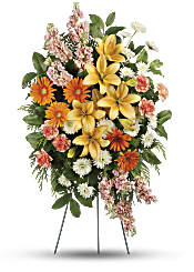 Treasured Lilies Spray Flowers