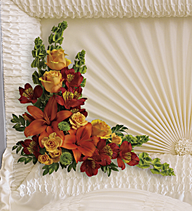 Island Sunset Casket Insert, picture