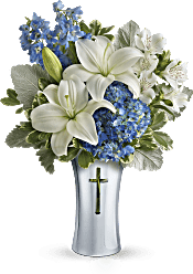 Teleflora's Skies Of Remembrance Bouquet Flowers