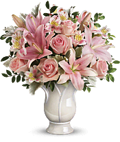 Soft And Tender Bouquet Flowers