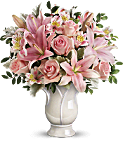 Teleflora's Soft And Tender Bouquet Flowers
