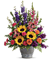 Teleflora's Hues Of Hope Bouquet Flowers