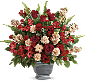 Teleflora's Bold Tribute Bouquet Flowers