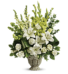 Teleflora's Clouds Of Heaven Bouquet, picture