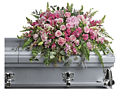 Beautiful Memories Casket Spray Flowers