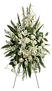Heartfelt Sympathy Spray Flowers