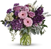 Magnificent Mauves Bouquet Flowers