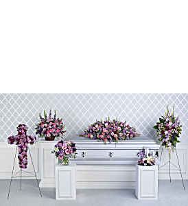 Teleflora's Lavender Tribute Collection, picture