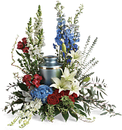 Reflections Of Honor Cremation Tribute Flowers