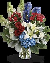 Colorful Tribute Bouquet Flowers