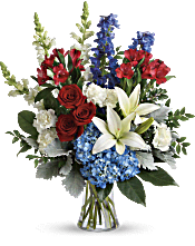 Colorful Tribute Bouquet Flowers