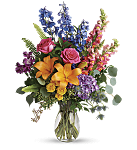 Colors Of The Rainbow Bouquet, picture
