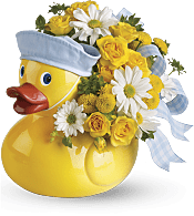 Ducky Delight - Boy Flowers
