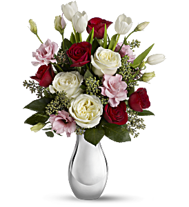 Teleflora's Love Forever Bouquet with Red Roses, picture