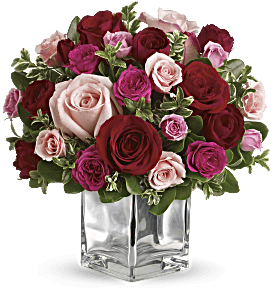 Teleflora's Love Medley Bouquet with Red Roses, picture