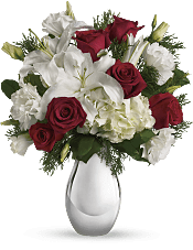 Silver Noel Bouquet Flowers