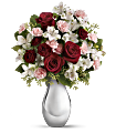 Crazy for You Bouquet with Red Roses Flowers