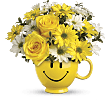 Teleflora's Be Happy� Bouquet with Roses