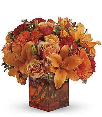 Teleflora's Sunrise Sunset Flowers