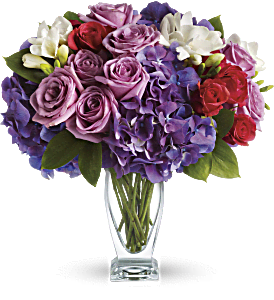 Teleflora's Rhapsody in Purple, picture