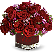 Never Let Go by Teleflora - 18 Red Roses Flowers