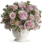 Parisian Pinks with Roses Flowers