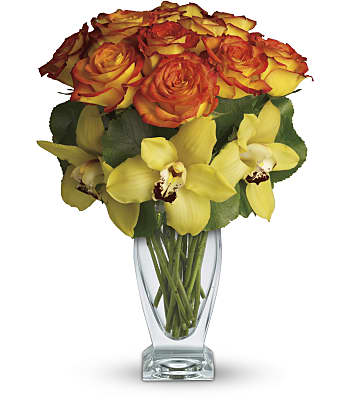 Teleflora's Aloha Sunset Flowers