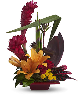 Teleflora's Tropical Bliss Flowers
