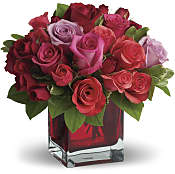 Madly in Love Bouquet with Red Roses  Flowers