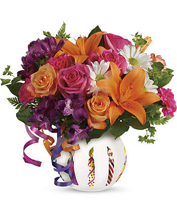 Party Starter Bouquet Flowers