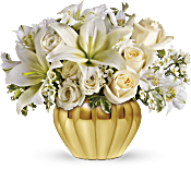 Teleflora's Touch of Gold Flowers