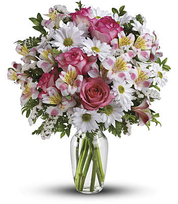 What a Treat Bouquet with Roses Flowers