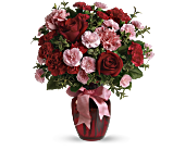 Dance with Me Bouquet with Red Roses, picture