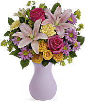 Teleflora's Perfectly Pastel Flowers