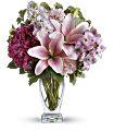 Teleflora's Blush Of Love Bouquet Flowers