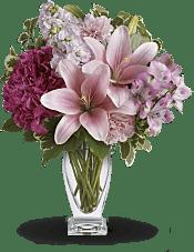 Blush Of Love Bouquet Flowers