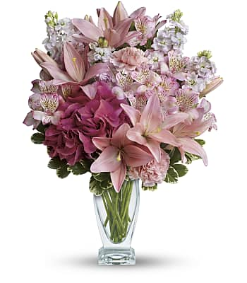 Blush Of Love Bouquet Flowers
