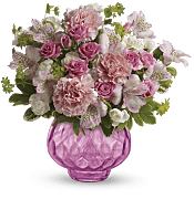 Simply Pink Bouquet Flowers