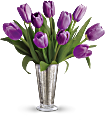 Tantalizing Tulips Bouquet by Teleflora Flowers