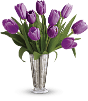 Tantalizing Tulips Bouquet  Flowers