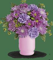 Poetry In Purple Bouquet  Flowers