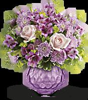 Teleflora's Lavender Chiffon Bouquet Flowers