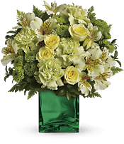 Emerald Elegance Bouquet Flowers