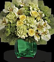 Teleflora's Emerald Elegance Bouquet Flowers