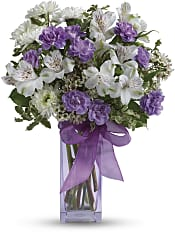 Lavender Laughter Bouquet Flowers