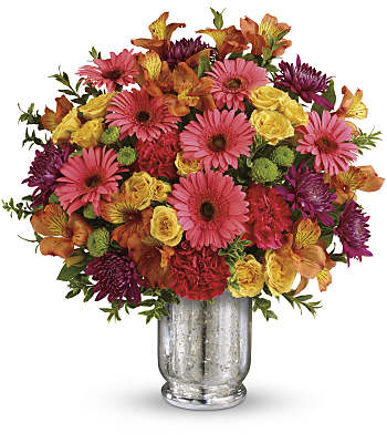 Teleflora's Pleased As Punch Bouquet Flowers