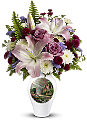 Thomas Kinkade's Moments Of Grace by Teleflora Flowers