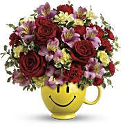 So Happy You're Mine Bouquet by Teleflora Flowers